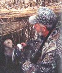 Retreivers on Louisiana Goose and Duck Hunts
